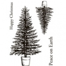 Clear Stamps, Traditional Tree